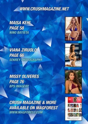Crush Magazine – December 2016 – Part 1 – Carmen Rox