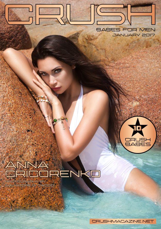 Crush Magazine – January 2017 – Anna Grigorgenko