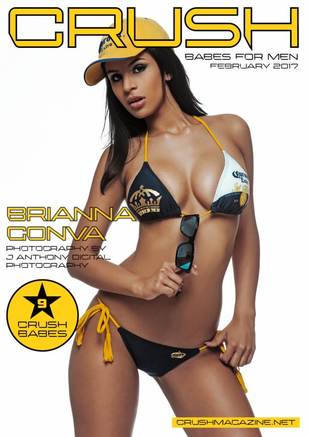 Crush Magazine – February 2017 – Brianna Gonva