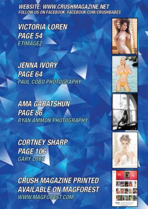 Crush Magazine – April 2017 – Jenna Ivory