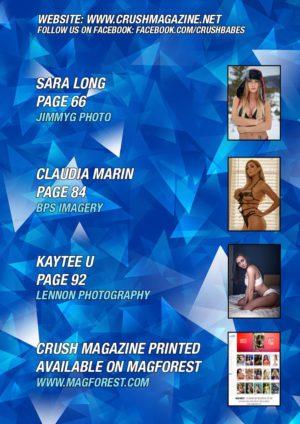 Crush Magazine – August 2018 – Sara Long