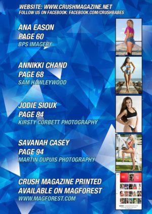 Crush Magazine – June 2017 – Sara Long