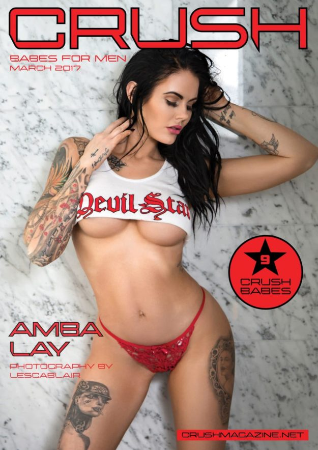 Crush Magazine – March 2017 – Amba Lay
