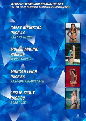 Crush Magazine – May 2018 – Dalia Elliott