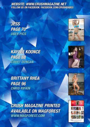 Crush Magazine – November 2017 – Samantha Mathias