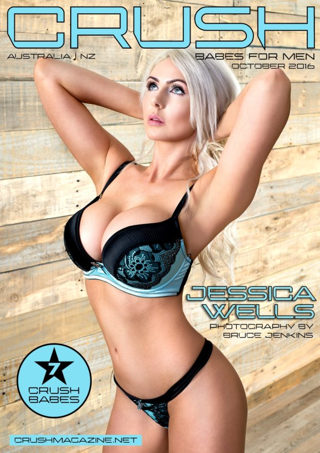 Crush Magazine – October 2016 – Jessica Wells