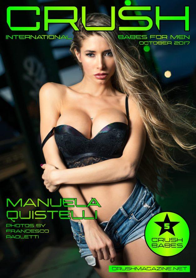 Crush Magazine – October 2017 – Manuela Quistelli