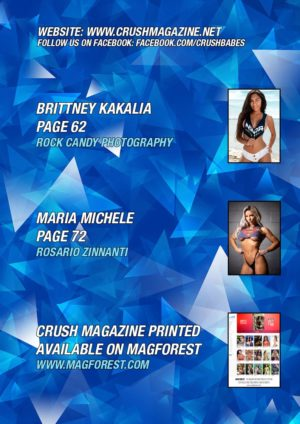 Crush Magazine – June 2019 – Maria Michele