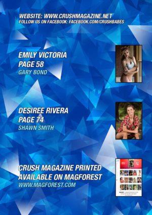 Crush Magazine – July 2019 – Emily Victoria