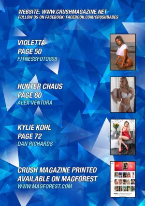 Crush Magazine – November 2019 – Sabrina Elsie