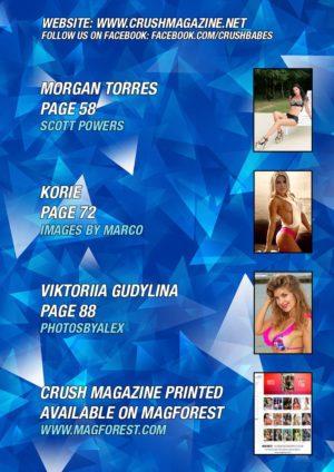 Crush Magazine – October 2019 – Morgan Torres