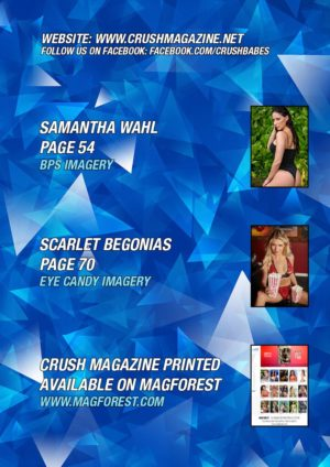 Crush Magazine – December 2019 – Ainsley Adams